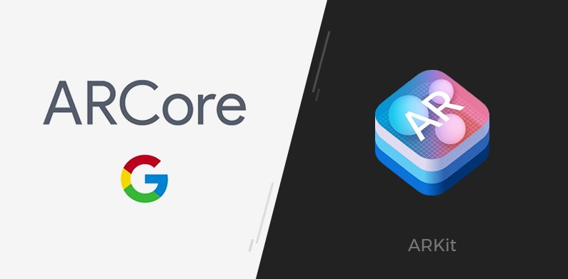 ARKit and ARCore