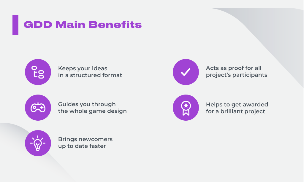 Game Design Document Benefits