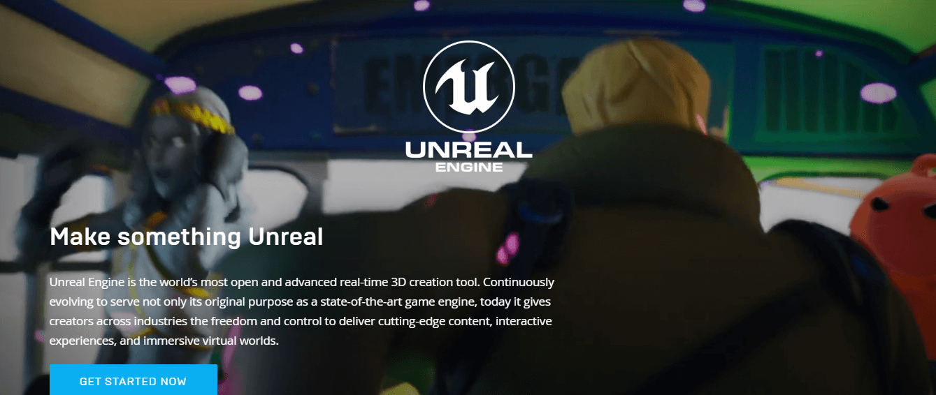 Unreal Engine Mobile Game Development Platfrom